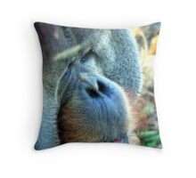 Gimme a Kiss, Baby!! Throw Pillow