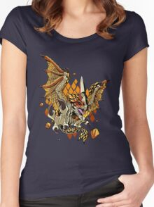 Thousand Blades Women's Fitted Scoop T-Shirt