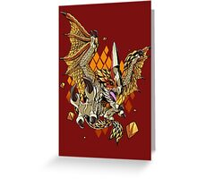 Thousand Blades Greeting Card