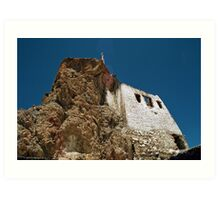 tibetan gompa. northern india Art Print
