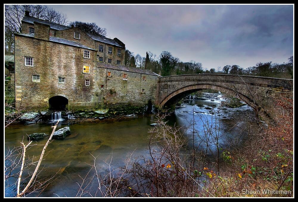 Aysgarth falls Mill by Shaun Whiteman