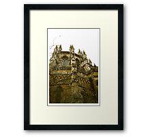Gothic Blossom Framed Print