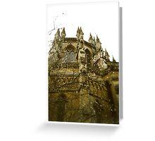 Gothic Blossom Greeting Card