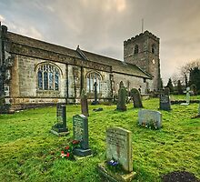 All Hallows Church, Great Mitton, Lancashire by Steve  Liptrot