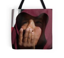nepali monk. tso pema, north india Tote Bag