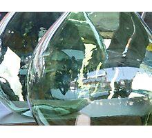 Glassy Reflections Photographic Print
