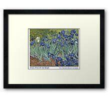 Irises by Vincent Vincent van Gogh Framed Print