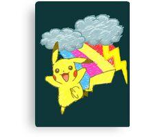 Pikachu Sky Canvas Print