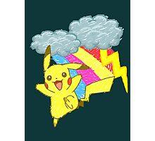 Pikachu Sky Photographic Print