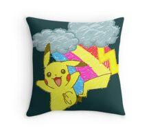 Pikachu Sky Throw Pillow