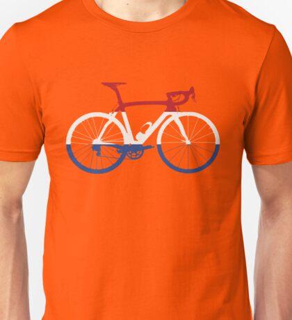 Bike Flag Netherlands (Big) Unisex T-Shirt