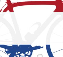 Bike Flag Netherlands (Big) Sticker