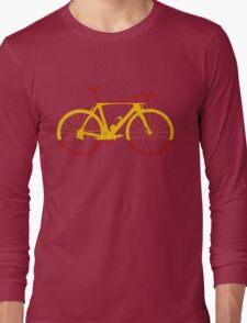 Bike Flag Spain (Big) Long Sleeve T-Shirt