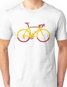 Bike Flag Spain (Big) Unisex T-Shirt