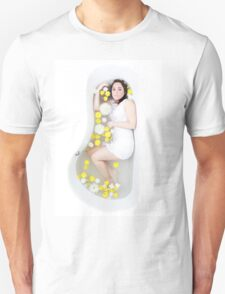 Bath of Flowers Unisex T-Shirt