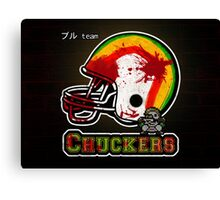Chuckers (Print Version) Canvas Print