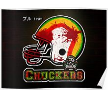 Chuckers (Print Version) Poster
