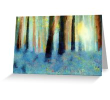 Bluebell Wood'... Greeting Card