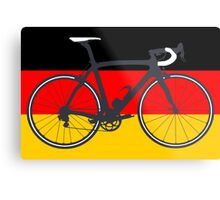 Bike Flag Germany (Big - Highlight) Metal Print