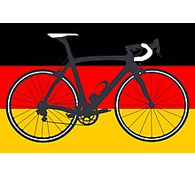 Bike Flag Germany (Big - Highlight) Photographic Print