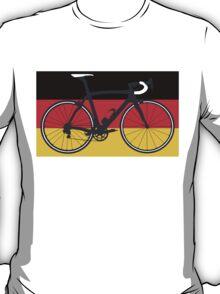 Bike Flag Germany (Big - Highlight) T-Shirt