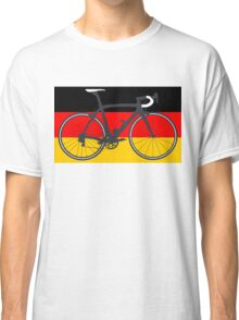 Bike Flag Germany (Big - Highlight) Classic T-Shirt