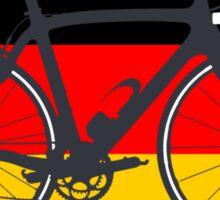 Bike Flag Germany (Big - Highlight) Sticker