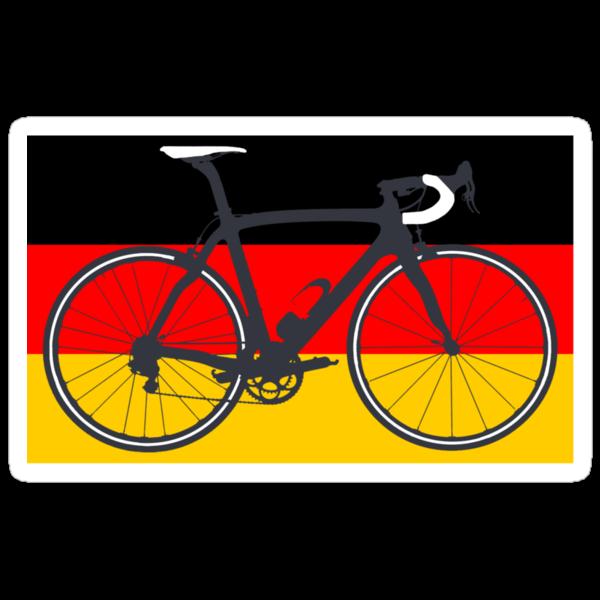 Bike Flag Germany (Big - Highlight) by sher00