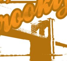 BROOKLYN GREETING CARD Sticker