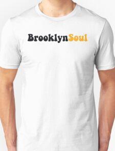 BROOKLYN SOUL*BLACK/YELLOW Unisex T-Shirt