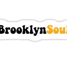 BROOKLYN SOUL*BLACK/YELLOW Sticker