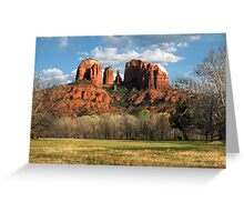 Cathedral Rock Greeting Card