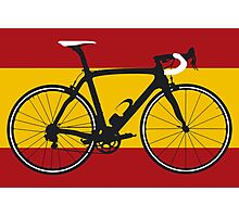 Bike Flag Spain (Big - Highlight) Photographic Print