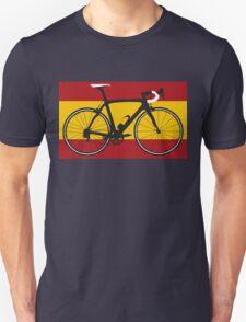 Bike Flag Spain (Big - Highlight) Unisex T-Shirt
