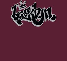 BROOKLYN GRAFF STYLE*BLACK/SILVER Unisex T-Shirt