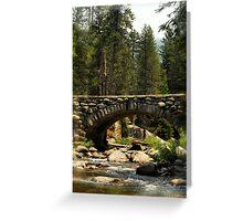 Bridged Beauty Greeting Card