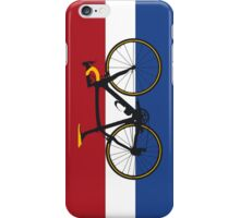 Bike Flag Netherlands (Big - Highlight) iPhone Case/Skin