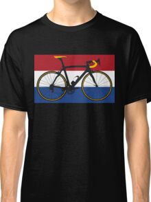 Bike Flag Netherlands (Big - Highlight) Classic T-Shirt