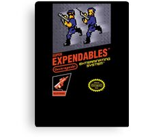 Super Expendables Canvas Print