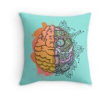 Brain Mechanics Throw Pillow