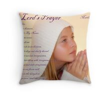 The Lord's Prayer Throw Pillow