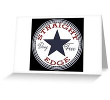 Staight Edge All Star Greeting Card