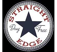 Staight Edge All Star Photographic Print