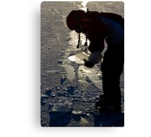 Ice Games Canvas Print