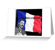 I dreamed a dream Greeting Card