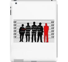 Usual suspects iPad Case/Skin