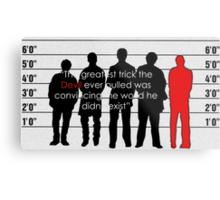 Usual suspects Metal Print