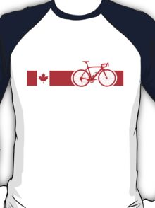 Bike Stripes Canadian National Road Race T-Shirt