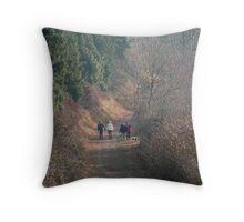 walkers Throw Pillow