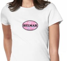 Belmar - New Jersey. Womens Fitted T-Shirt